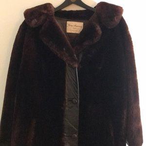 Jackets & Blazers - Faux Fur vintage coat.